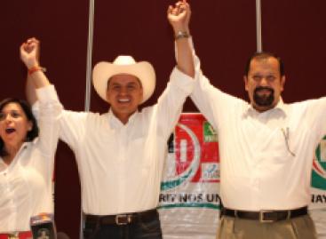 EL PRI avenataja en Nayarit, con Roberto Sandoval