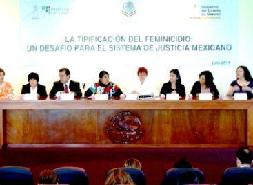 Eufrosina Cruz Mendoza inauguró el foro: La tipificación del feminicidio, un desafío para el sistema de justicia mexicano