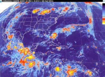 Lluvias  de fuertes a intensas en el Occidente, Oriente, Sur y Sureste del país:SMN