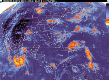 """Tormenta tropical """"Dora"""" al Sur del Golfo de Tehuantepec: SMN"""