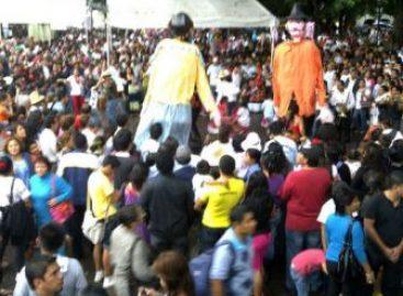 Con un convite inician actividades de la Guelaguetza Magisterial Popular; alterna a la oficial