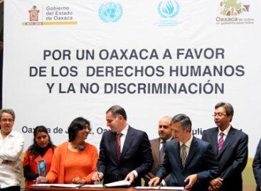 Reconoce Alta Comisionada de la ONU política en la defensa de derechos humanos en Oaxaca