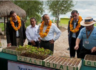 Pide Calderón replicar proyectos sociales a favor del agua en Oaxaca y Puebla