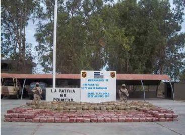 Aseguran militares más de tres toneladas de mariguana, en Puerto Peñasco, Sonora
