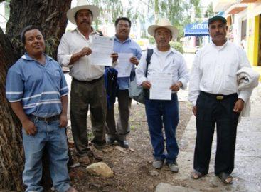 Rectifica CONAFOR, entrega arbolado del vivero de Nuxaño a pueblos mixtecos