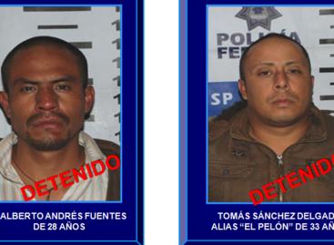 """PF asegura a miembros de la banda de """"Los Diz"""", en el Estado de México"""