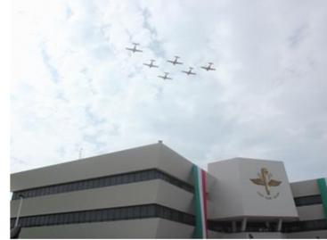 Egresa la primer mujer piloto aviador del Colegio del Aire, de las fuerzas armadas de México