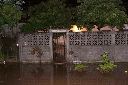 Afectaciones por lluvia
