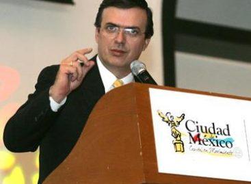 Decisiva la elección del 2012 para cambiar el rumbo de México: Ebrard