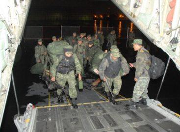 Inicia SEDENA el despliegue de tropas para reforzar Monterrey, Nuevo León