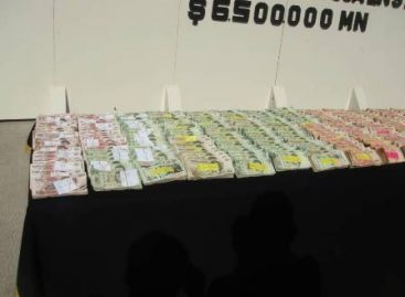 Decomisan más de seis millones de pesos en una casa del municipio de Santa Catarina, N. L.