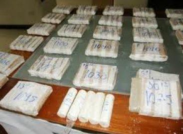 Aseguran 12 kilogramos de cocaína y 15 kilogramos de cristal en San Luis Río Colorado, Sonora
