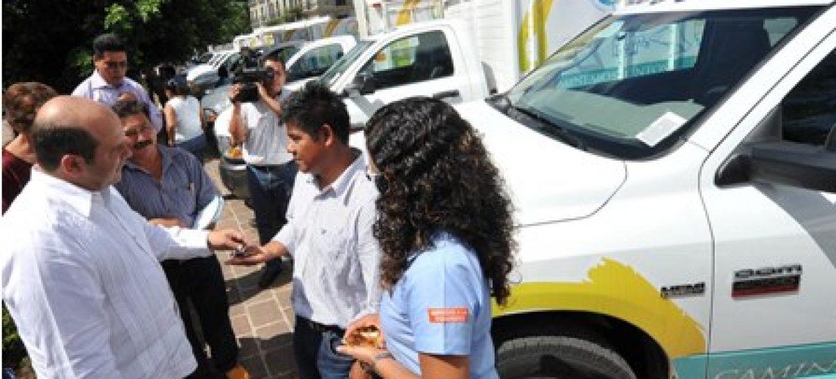 Invierte Ayuntamiento casi 12 mdp para la compra de 18 camiones recolectores de basura