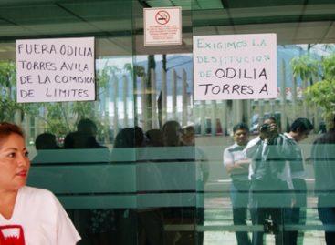 Toman edificio de la Secretaría General de Gobierno de Oaxaca, en demanda de la salida de Odilia Torres Ávila