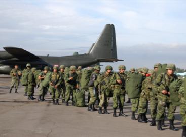 Se suman 400 militares a las tareas de seguridad en Monterrey