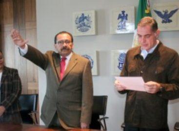 Rinde Gerardo Albino protesta como Secretario de Desarrollo Social y Humano