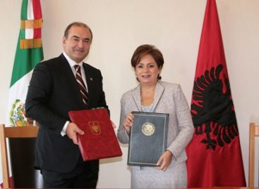 Ministro de Asuntos Exteriores de Albania realiza visita de trabajo a México