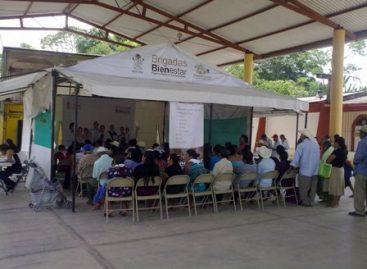 Brindan Brigadas Bienestar más de 23 mil servicios en 53 municipios