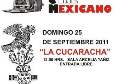 Cine Mexicano en la Casa de la Cultura de Oaxaca