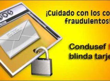 Alerta en Oaxaca por fraudes en internet a tarjetahabientes, a nombre de la CONDUSEF