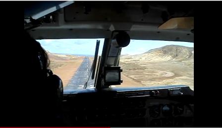 Chile aterrizaje en la Isla