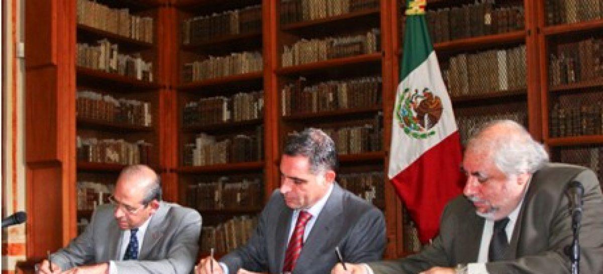 Firman convenio la UAM y la UABJO; impulsarán educación de calidad