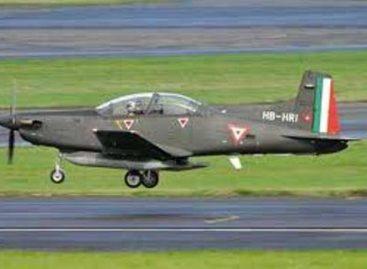 Sufre accidente aeronave de la Fuerza Aérea Mexicana en el estado de Chiapas