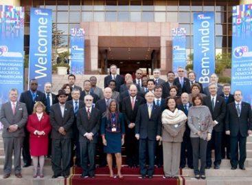 México en la conmemoración del aniversario de la Carta Democrática Interamericana