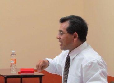 Destacado penalista de México, dicta cátedra en la Facultad de la UABJO