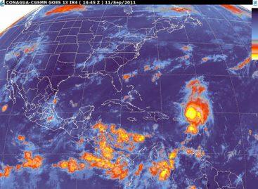 "Emiten alerta naranja en Veracruz por tormenta tropical ""Nate"""