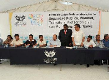 Firman Oaxaca de Juárez y municipios conurbados Convenio en materia de seguridad