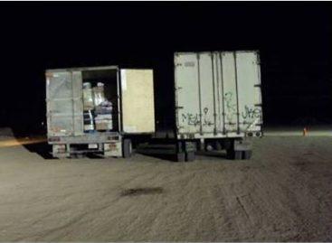 Aprehenden a dos personas con paquetes de heroína y goma de opio en Sonoyta, Sonora
