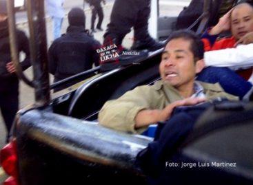Represión y violencia, contra sindicalistas universitarios en Oaxaca