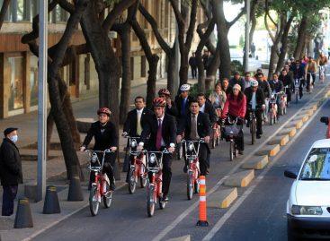 Otorga ONU Hábitat reconocimiento a la ciudad de México por la estrategia de movilidad en bicicleta