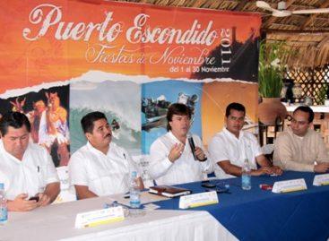 Destinan seis mdp para Fiestas de Noviembre en Puerto Escondido, Oaxaca