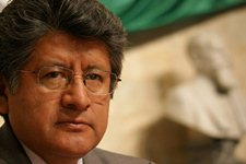 El diputado del PRD, Francisco Martínez Neri, presidente  de la Mesa Directiva del 61 Legislatura de Oaxaca