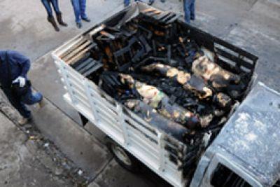 Delincuencia Cádaveres calcinados Sinaloa