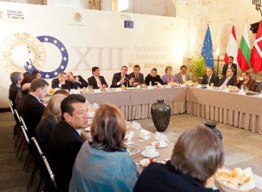 Presentan Declaración Conjunta Comisión Parlamentaria México-UE; Estrechan lazos gobierno de Oaxaca y Parlamento Europeo