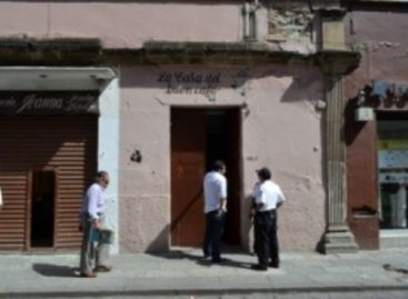 Atracan dos negociaciones en el Centro Histórico de Oaxaca
