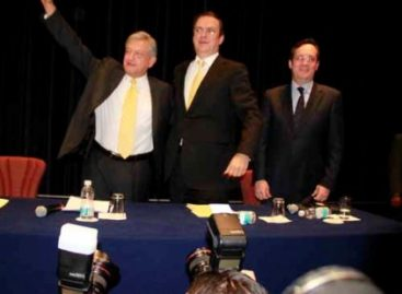 López Obrador candidato presidencial de la fuerzas progresistas y de izquierda