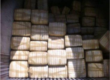 Aseguran más de una tonelada de mariguana en Agua Prieta, Sonora