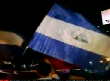 Miles de nicaragüenses celebran victoria de Daniel Ortega