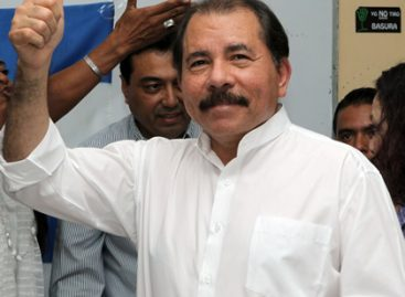 Ortega reelecto en Nicaragua con 62.66% de votos