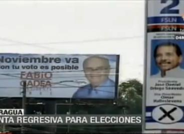 Inician elecciones en Nicaragua