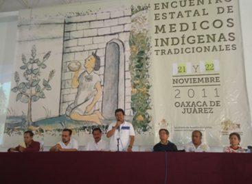 Inauguran Encuentro de Médicos Indígenas Tradicionales, en Oaxaca