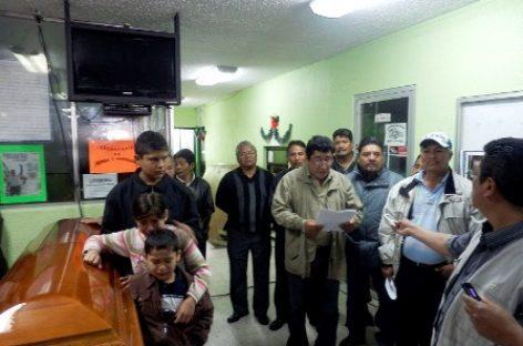 Homenaje póstumo a Rafael Vicente Rodríguez, dirigente magisterial asesinado la Noche Buena