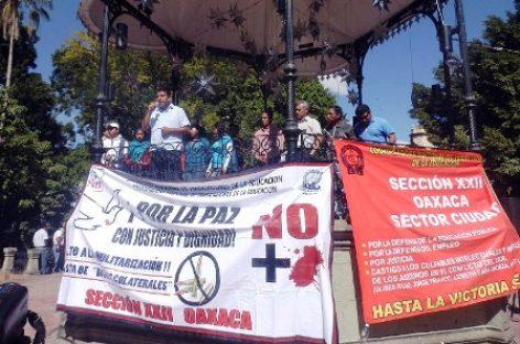 <strong>Asesinan a ex dirigente de la Sección 22 del SNTE en Oaxaca</strong>