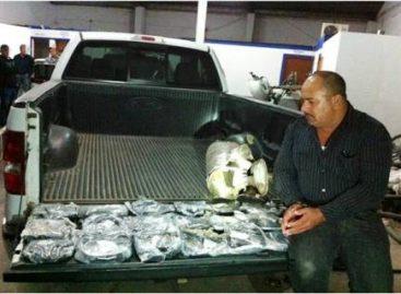 Policía federal asegura más de 20 kilos de heroína, en Sonora