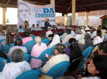 Mixtecos confían que Diódoro Carrasco Altamirano  vuelva a detonar el desarrollo en Oaxaca