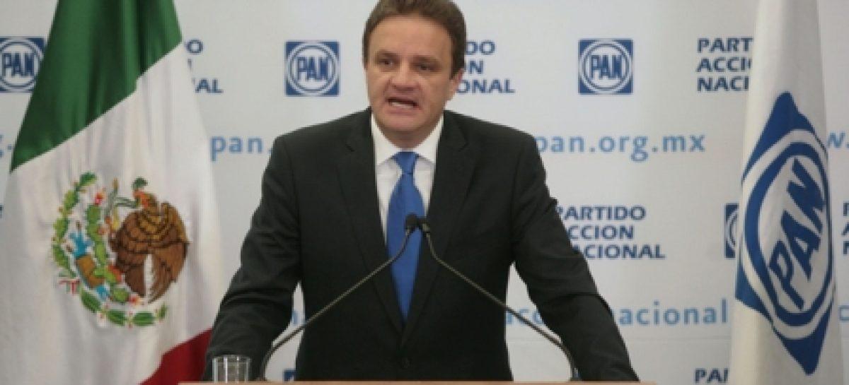 El proceso electoral interno del PAN, sin incidentes graves; un éxito: Espina